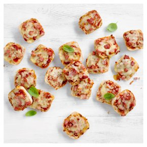 Mini Cheese & Ham Panini Pizzas (24 pieces)