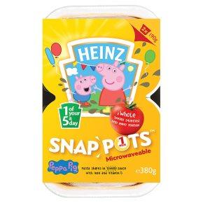 Heinz Peppa Pig Snap Pots