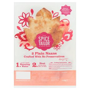 The Spice Tailor Plain Baked Naans