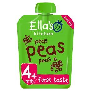 Ella's Kitchen peas peas peas