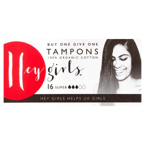 Hey Girls Tampons Super