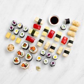 Taiko Vegetarian Sushi Platter