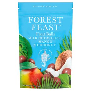 Forest Feast Chocolate Fruit Balls