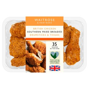 Waitrose Southern Fried Drumsticks & Thighs