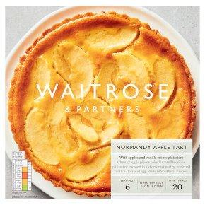 Waitrose Frozen tarte aux pommes Normande