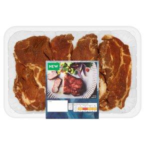 Waitrose 4 BBQ Pork Steaks