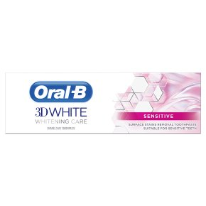 Oral-B 3D White Whitening Sensitive