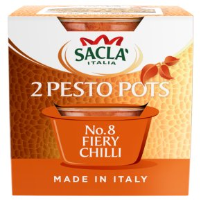 Sacla' Fiery Chilli Pesto Pots