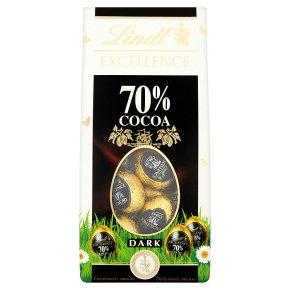 Lindt Excellence 70% Cocoa Dark Mini Eggs