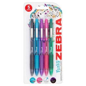 Zebra Z-Grip Smooth Colour Pens