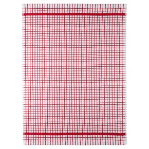 Waitrose Cooking Terry Tea Towel Red