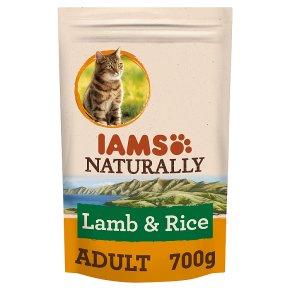 Iams Naturally Adult with New Zealand Lamb & Rice
