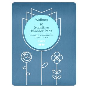 Waitrose Sensitive Bladder Pads Extra