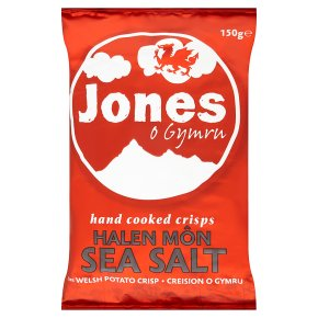 Jones crisps sea salt