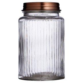Waitrose Copper Lid Jar Small