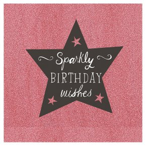 Sparkly happy birthday card waitrose sparkly happy birthday card m4hsunfo