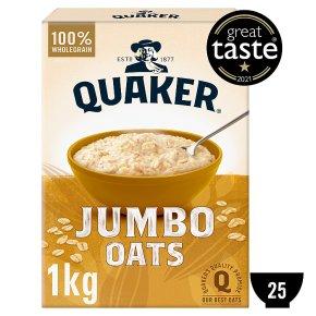 Quaker jumbo original rolled oats porridge - Waitrose
