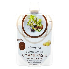 Clearspring Japanese Umami Paste with Ginger