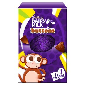 Cadbury Dairy Milk Buttons Medium Chocolate Easter Egg