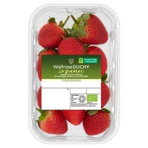 Waitrose Organic strawberries