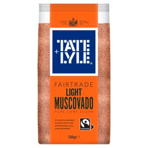 Tate & Lyle Fairtrade Light Muscovado Sugar
