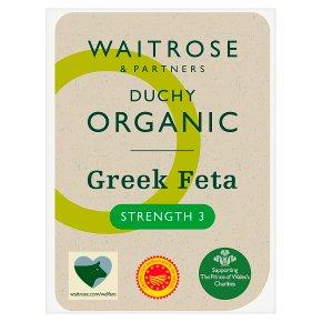 Waitrose Duchy Organic Feta cheese, strength 3