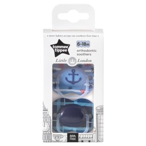 Tommee Tippee London Soothers6-18m