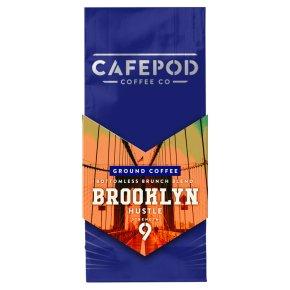 CafePod Coffee Co. Ground Coffee Brooklyn Hustle
