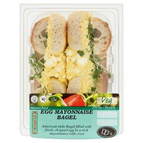 DDs Egg Mayonnaise Bagel