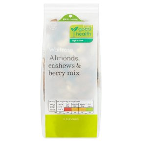 Waitrose Almonds, Cashews & Berry Mix