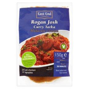E/E rogan josh curry tarka