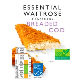 essential Waitrose Breaded Cod