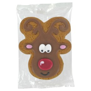 Image on Food Iced Gingerbread Ruby Reindeer 35g
