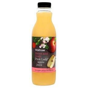Waitrose Pink Lady apple juice
