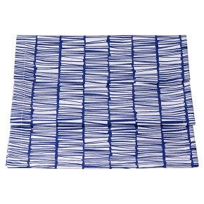 Waitrose Evora Blue Table Runner