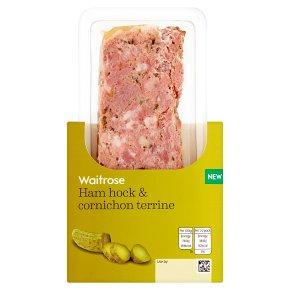 Waitrose Ham Hock & Cornichon Terrine