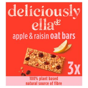 Deliciously Ella Apple, Raisin Bars