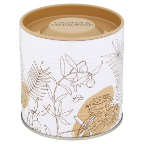 Flower Garden Coconut Candle Tin