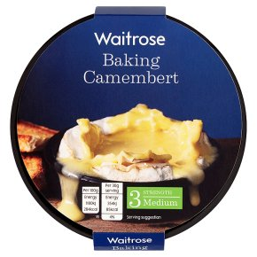 Waitrose baking French camembert cheese (medium)