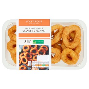 Waitrose Breaded Calamari