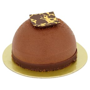 Chocolate Salted Caramel Mousse Dome Waitrose Partners