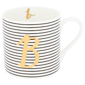 Waitrose 'B' Bone China Mug