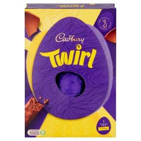 Cadbury Twirl Large Chocolate Easter Egg
