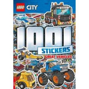 Lego City 1001 Stickers