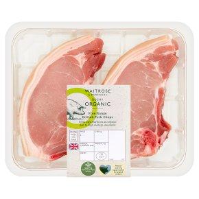 Waitrose Duchy Organic British free range pork chops