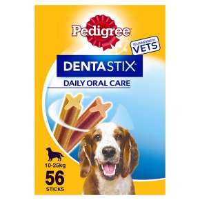 Pedigree Dentastix 56 Sticks 10-25kg