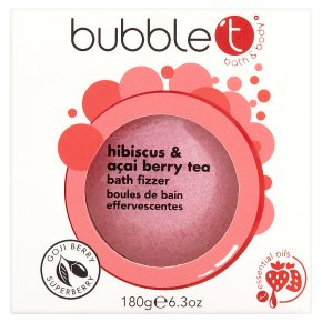 Bubble T Hibiscus Bath Fizzer