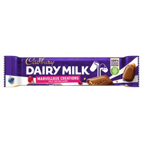 Cadbury Dairy Milk Marvellous Creations jelly popping candy chocolate bar