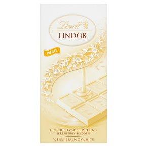 Lindt Lindor white chocolate bar