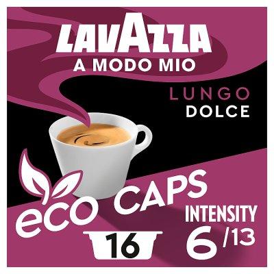 Lavazza A Modo Mio Lungo Dolce Coffee Capsules X16